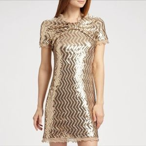 Moschino Cheap and Chic - NWT Gold Sequin Dress